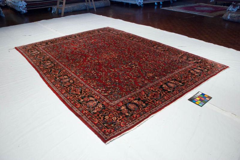 Red Persian Rug 9x12 American Sarouk 34806 Ebay